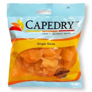 Capedry Ginger Slices 250g