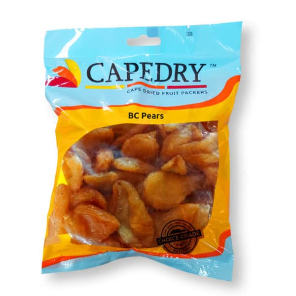 dried pears capedry