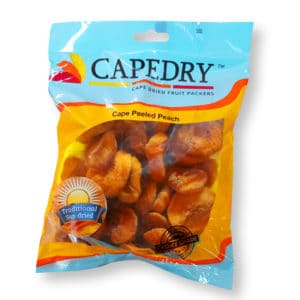 Cape Peeled Peach - Traditional Sundried