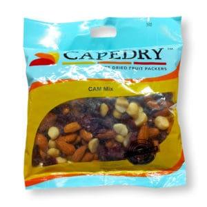 mix of Cranberries, almonds, macadamia