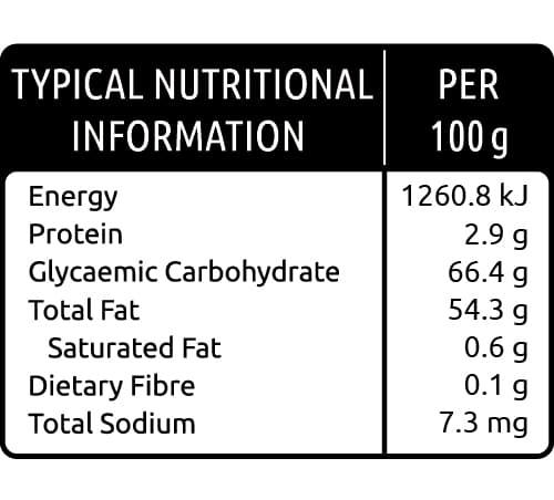 Fruit Salad Diced Nutritional Values