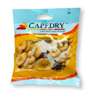 mix of (Cashew Raw, Bakers Mix, Banana Chip & Coconut Flake