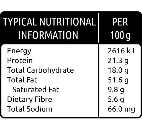 cashew nut nutritional values