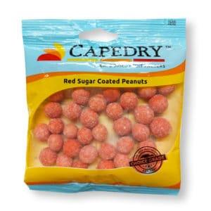Capedry Red Sugar Coated Peanuts Choice Grade